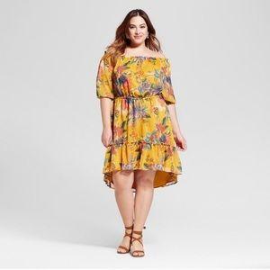 Ava & Viv Floral Off the Shoulder Summer Dress